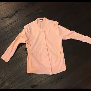J. Crew light pink cardigan SIZE S